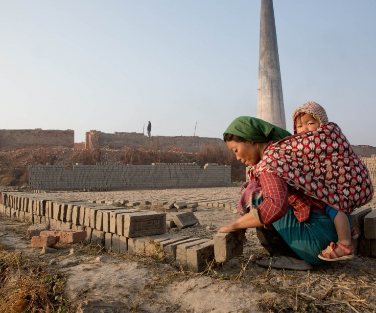 Brickworkers of Kathmandu